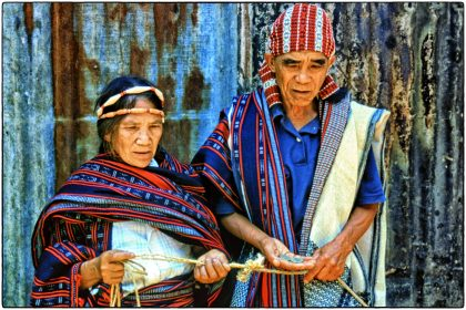 Traditional woven clothing, Philippines - Gerry Atkinson