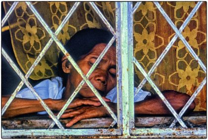 Tired woman, Philippines - Gerry Atkinson