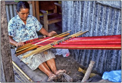 Traditional Weaving- Philippines-Gerry Atkinson