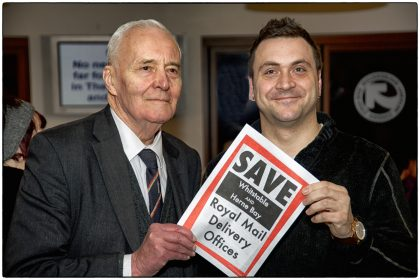 Save Royal Mail Delivery Offices- Gerry Atkinson