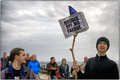 Views on Nigel Farage- Whitstable Gerry Atkinson