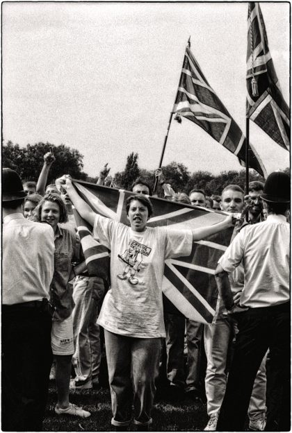 Southwark Anti -racism March, London, 1991.