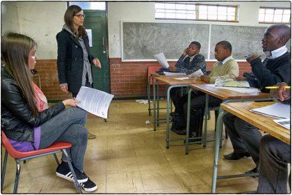 Intsebenziswano Secondary School, Philippi.