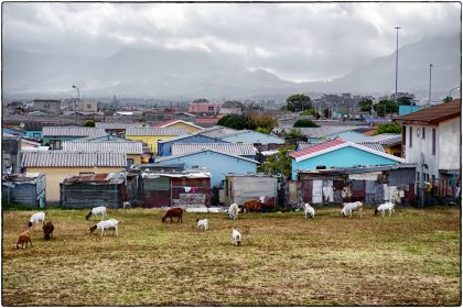 View of Philippi from Intsebenziswano School, SA.