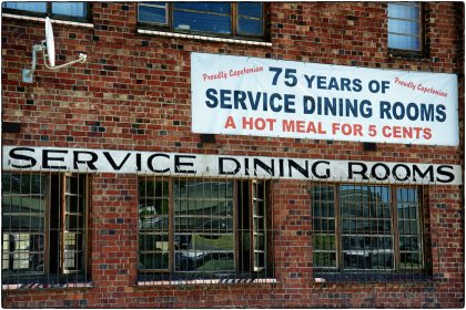 Service Dining Rooms Cape Town 2012