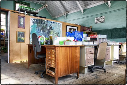Office at The Carpenter's Shop Cape Town.