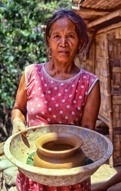 Making pots, Philippines- Gerry Atkinson