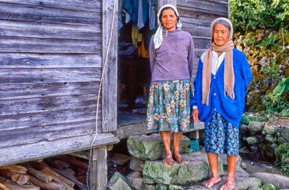 Village women, Philippines - Gerry Atkinson