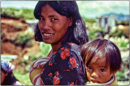 Woman and child, Philippines - Gerry Atkinson