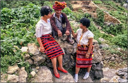 Woven traditional clothes, Philippines - Gerry Atkinson