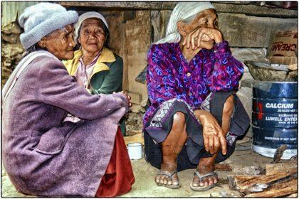 Village elders,Philippines - Gerry Atkinson