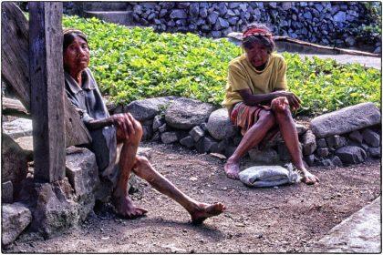 Village elders, Philippines - Gerry Atkinson