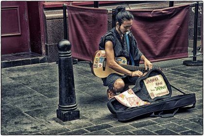 Street Performer - Gerry Atkinson
