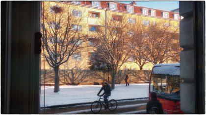 Cable Street Snow- Gerry Atkinson