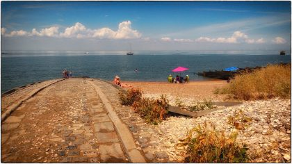Sunny Whitstable Day- Gerry Atkinson