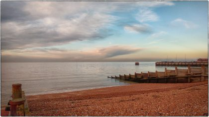Calm Sea, Whitstable- Gerry Atkinson