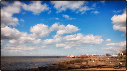 Cloudy Day, Whitstable- Gerry Atkinson