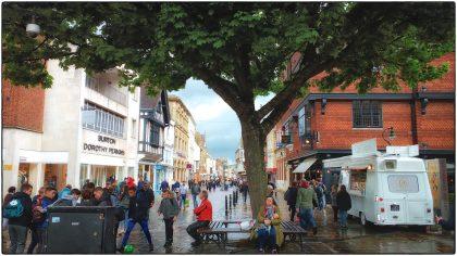 Canterbury High Street- Gerry Atkinson