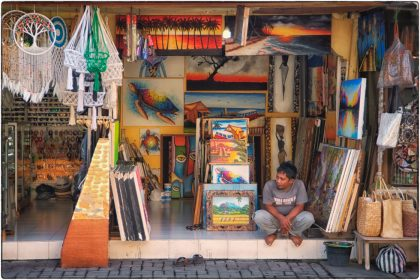 Sanur street life - Gerry Atkinson