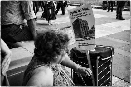 Anti-Austerity protest 1/07/2107 - Gerry Atkinson