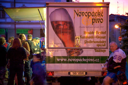 Festival food truck, Czech Republic.- Gerry Atkinson