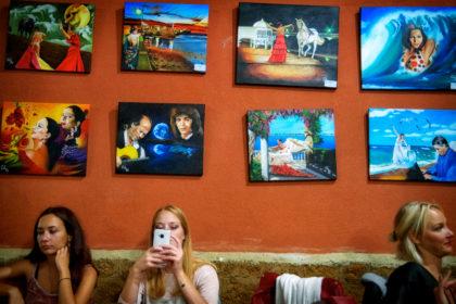 Flamenco Cafe, Cadiz.- Gerry Atkinson