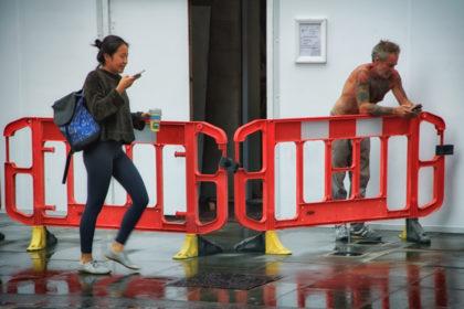 Rainy Day. London. - Gerry Atkinson