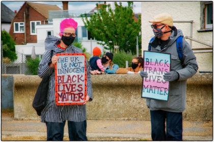 Whitstable Protest for Black Lives Matter -2020