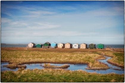 Beach Huts Seasalter -  Gerry Atkinson