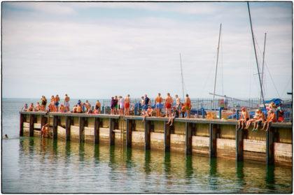 East Quay sun seekers- Gerry Atkinson