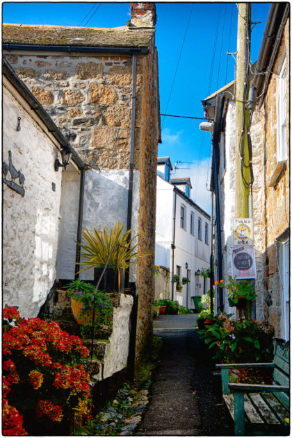 Mousehole Streets- Gerry Atkinson