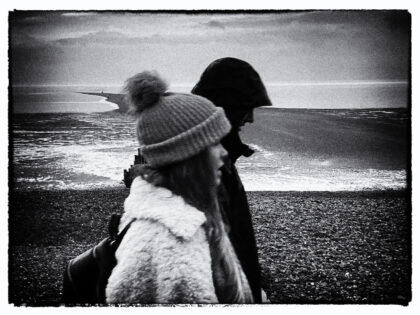 Walking in Whitstable- Gerry Atkinson
