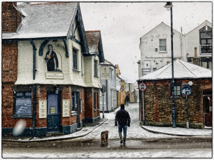 Whitstable Snow - Gerry Atkinson
