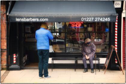 Lens Barbers- Gerry Atkinson