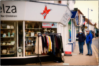 Demelza Charity Shop - Gerry Atkinson