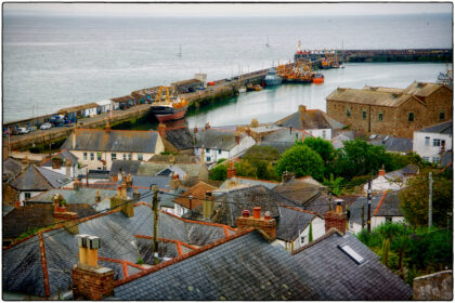 Newlyn Harbour-Gerry Atkinson