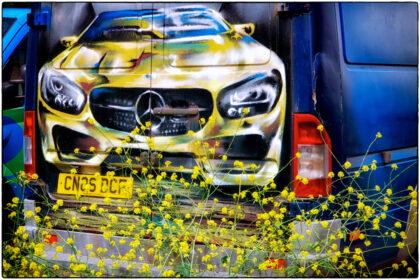 Mercedes on Van Doors -Gerry Atkinson