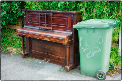 Discarded Piano -Gerry Atkinson