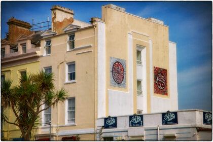 Gilbert and George- Folkestone Triennial- Gerry Atkinson