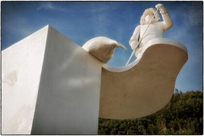 Bill Woodrow's 'The Ledge' -Folkestone Triennial- Gerry Atkinson