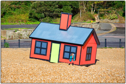 Richard Woods 'Holiday Home' Folkestone Triennial- Gerry Atkinson