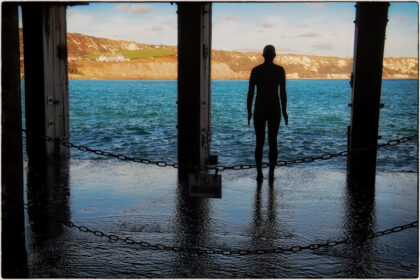 Antony Gormley- 'Another Time' Folkestone Triennial- Gerry Atkinson